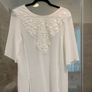 Embroidered Zara Tunic